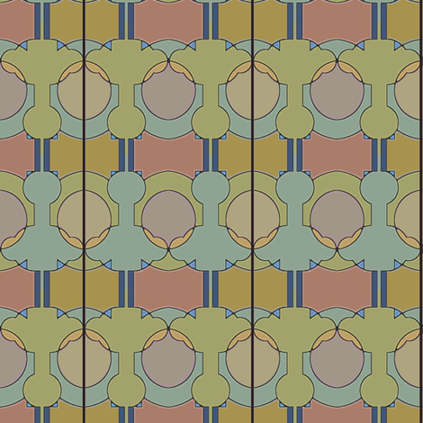 Striped Egg fabric by david_kent_collections on Spoonflower - custom fabric