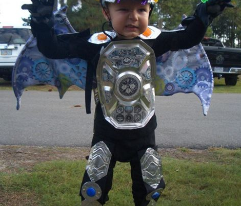 Halloween Costume Robotic Dragon Wings