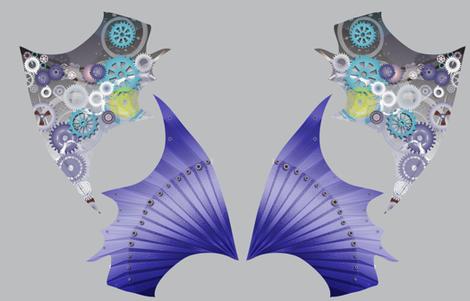Halloween Costume Robotic Dragon Wings