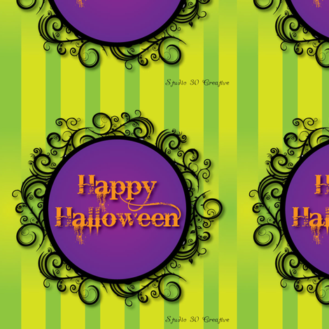 happy-halloween fabric by wendyg on Spoonflower - custom fabric