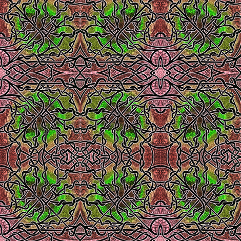 Mint Chocolate Africa fabric by edsel2084 on Spoonflower - custom fabric