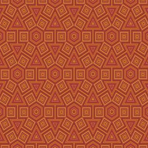 Hexagon Terracotta Tiles © Gingezel™ 2011