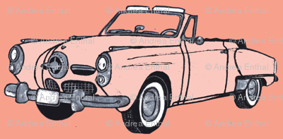 1950 Studebaker convertible (master art)