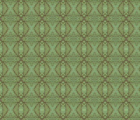 Leaf Lattice fabric by relative_of_otis on Spoonflower - custom fabric