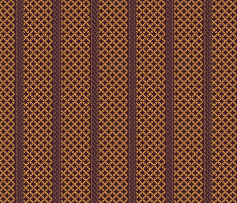 Chain Link Stripe - Plum Gold fabric by glimmericks on Spoonflower - custom fabric