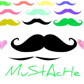Mustaches Galore!