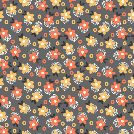 Itsy Bitsy Ditsy fabric by mondaland on Spoonflower - custom fabric