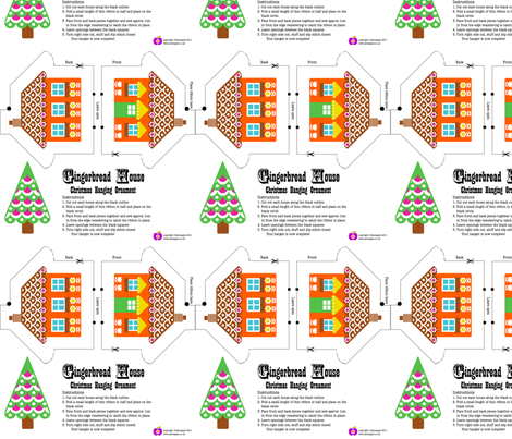 gingerbread_house fabric by aliceapple on Spoonflower - custom fabric