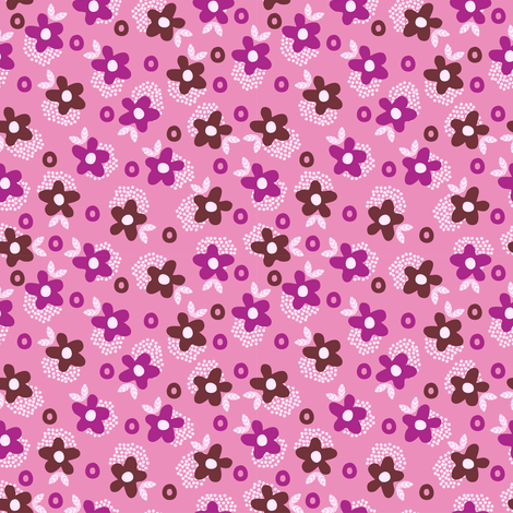 Itsy Bitsy Ditsy (9) fabric by mondaland on Spoonflower - custom fabric