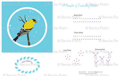 Goldfinch Sampler
