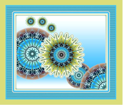 Symbiosis fabric by joanmclemore on Spoonflower - custom fabric