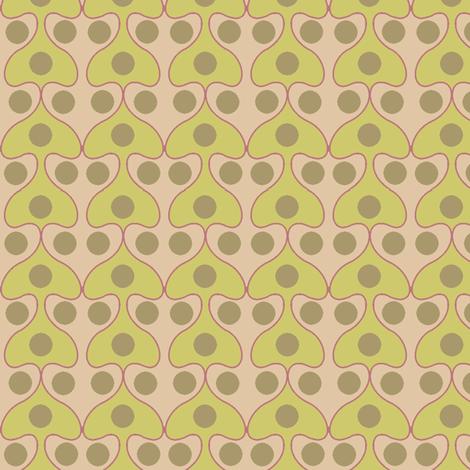 Mushroom (Pastel) fabric by david_kent_collections on Spoonflower - custom fabric