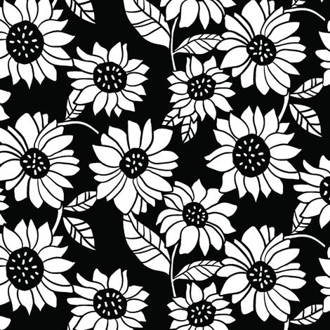 Night Garden fabric by leanne on Spoonflower - custom fabric