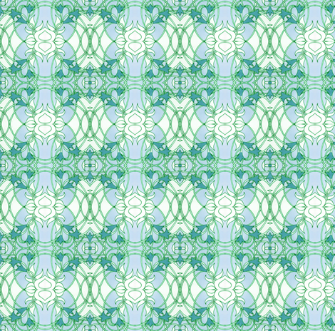 Looking Out My Bathroom Window fabric by edsel2084 on Spoonflower - custom fabric