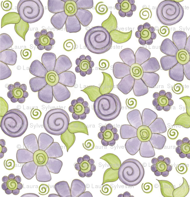 Delightfully dainty ditsy flowers