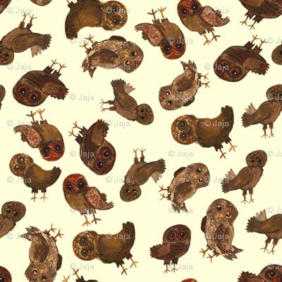 owl ditsy