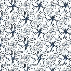 Blooms Indigo