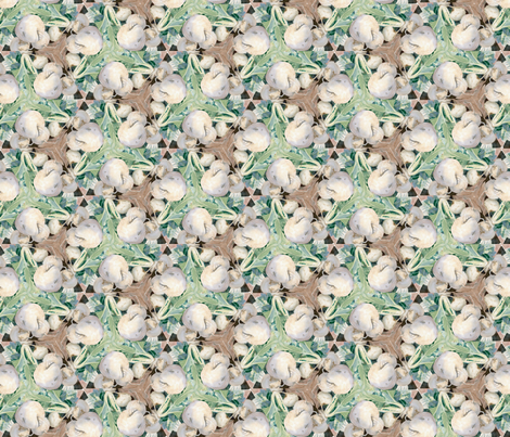 white_turnips_center_greens_5 fabric by forestheart on Spoonflower - custom fabric