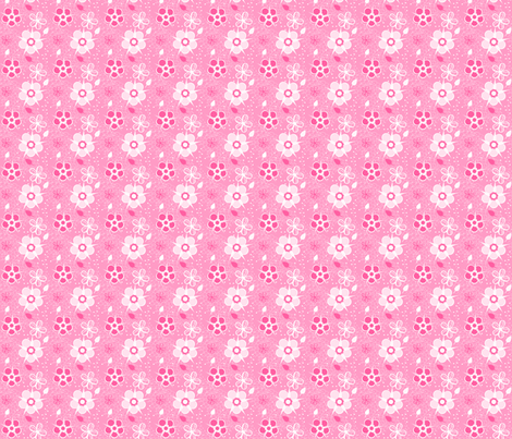 Pinky Bubble Bath fabric by eppiepeppercorn on Spoonflower - custom fabric