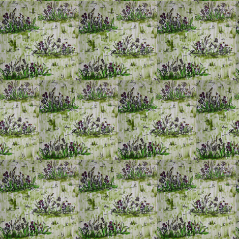 ditsy_field fabric by botanicalbeauty on Spoonflower - custom fabric