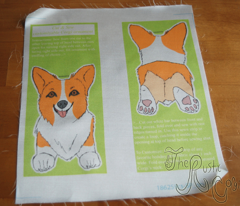 ©2011 Customizable Cut & Sew Corgi Ornament