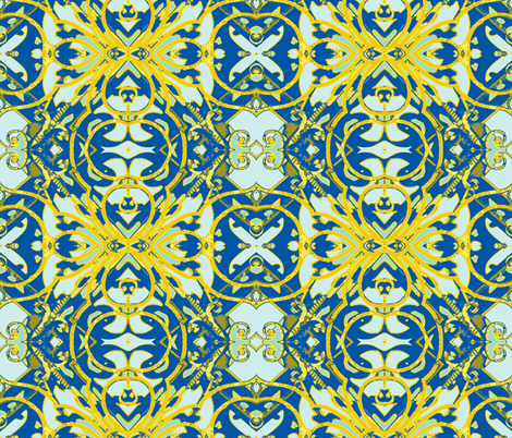 This Would Make Me Sneeze in Real Life fabric by susaninparis on Spoonflower - custom fabric