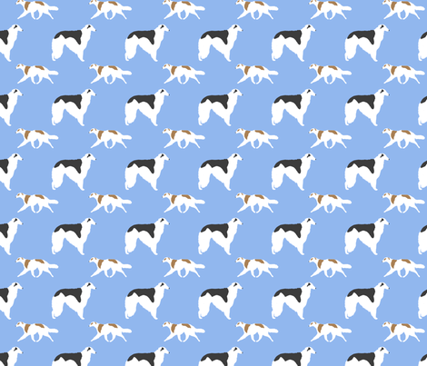 Basic Borzoi - blue