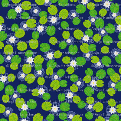 I wish I had a lily pond
