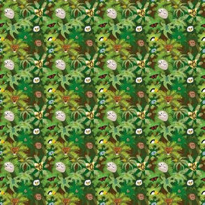 The Rainforest Ditsy Print