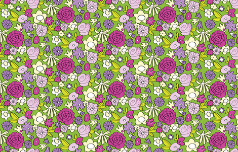 floral1 fabric by neverwhere on Spoonflower - custom fabric