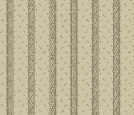 Flutter_Tree Putty fabric by glimmericks on Spoonflower - custom fabric