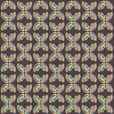 Broken Coin fabric by david_kent_collections on Spoonflower - custom fabric