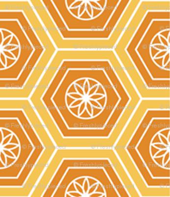 Hexies Marigold