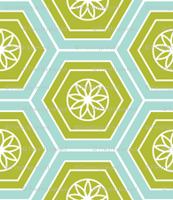 Hexies Lime