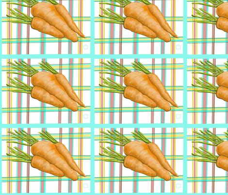 Home Grown Carrots fabric by salzanos on Spoonflower - custom fabric