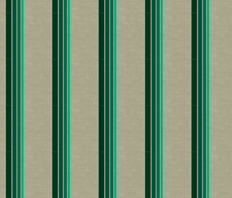 Spearmint Stripes fabric by platosquirrel on Spoonflower - custom fabric
