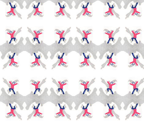 Dancer fabric by allida on Spoonflower - custom fabric