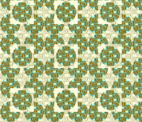 Modern Geometrics fabric by cksstudio80 on Spoonflower - custom fabric