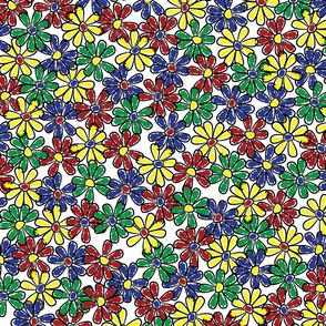 Doodle Flowers (Large)