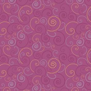 Swirl Purple
