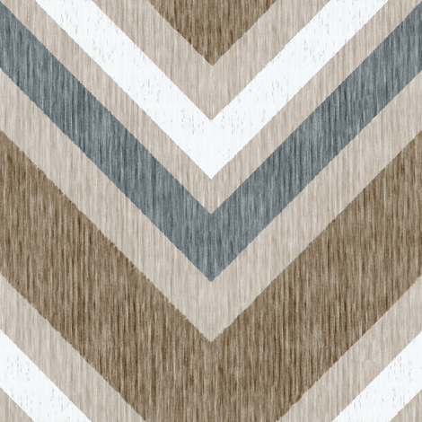 French Linen ZigZag Chevron fabric by kristopherk on Spoonflower - custom fabric