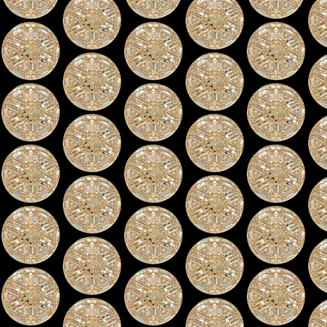 Glass Gems 3B, S fabric by animotaxis on Spoonflower - custom fabric