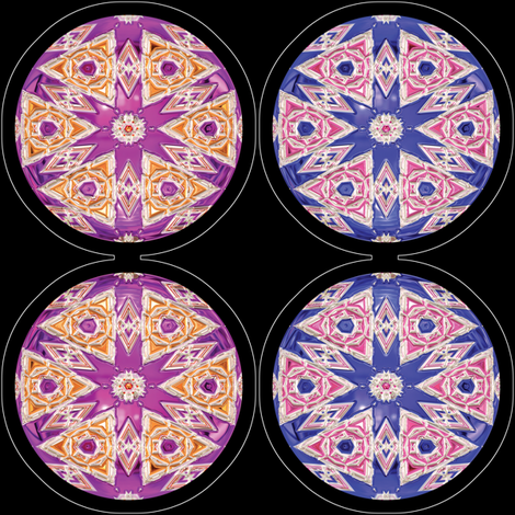 Ornaments 4, Plushie fabric by animotaxis on Spoonflower - custom fabric