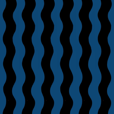Waves fabric by paragonstudios on Spoonflower - custom fabric
