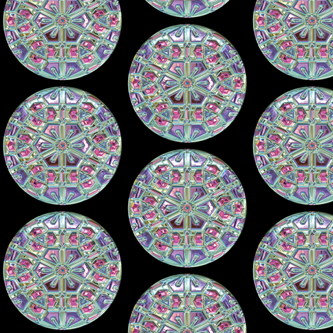 Glass Gems 5B, L fabric by animotaxis on Spoonflower - custom fabric