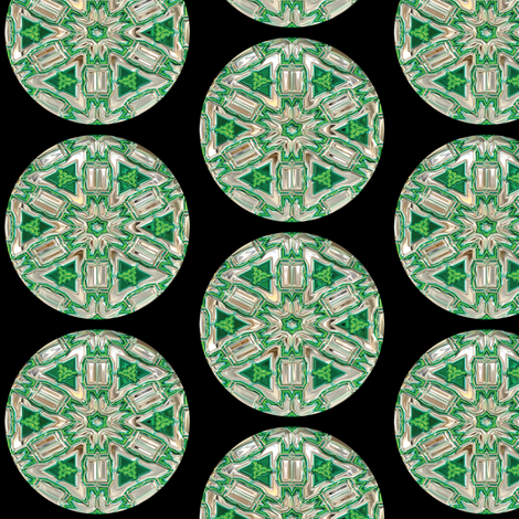 Glass Gems 6A, L fabric by animotaxis on Spoonflower - custom fabric