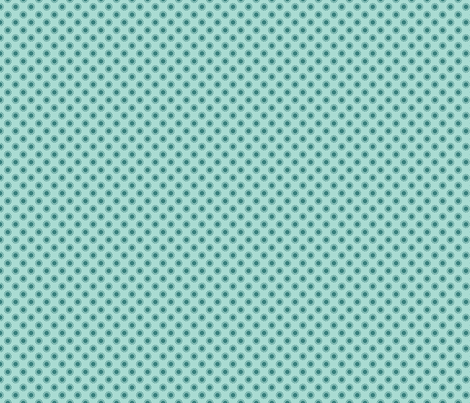 Dot Aqua fabric by freshlypieced on Spoonflower - custom fabric