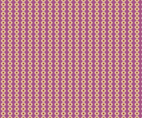 Flower Stripe Purple