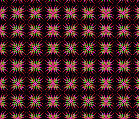 Bleeding Hearts Swirls 1 fabric by dovetail_designs on Spoonflower - custom fabric