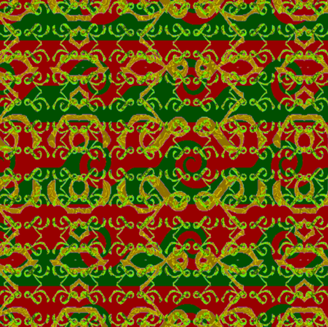 ChristmasRace fabric by grannynan on Spoonflower - custom fabric
